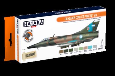 Falklands Conflict Paint Set Vol.1, set barev - 1