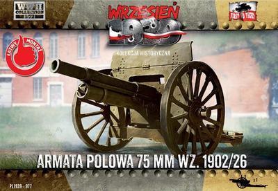 Field Gun 75mm wz.1902/26