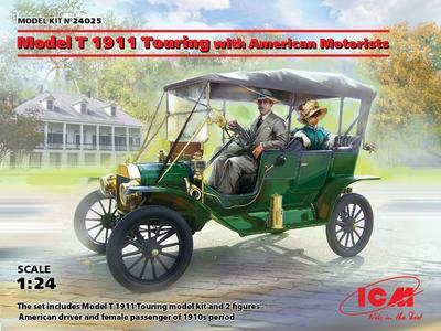 Model T 1911 Turing with American Motorist