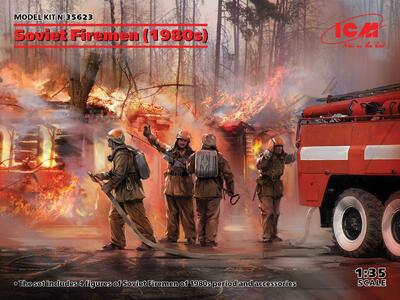Soviet Firemen of 1980s  - 1