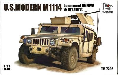 US.Modern M1114 Up-armored HMMWV w/GPK Turret