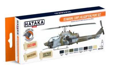 US Marine Corps Helicopters Paint Set, sada barev  - 1