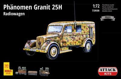Phänomen Granit 25H Radiowagen (PE exterior set, resin details including full interior)