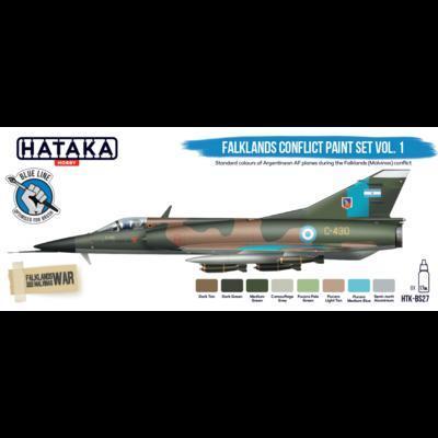 Falkland Conflict Paint Set Vol. 1, sada barev - 1