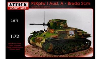 PzKpfw I Ausf.A - Breda 2cm
