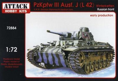 PzJpfw III Ausf.J (L 42) Russian Front early production with Winterketten