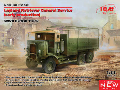 Leyland Retriever General Service (early production) Europe 1945 - 1