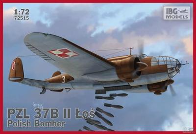 PZL 37B II ŁOŚ  Polish Bomber
