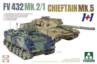 FV432 Mk.2/1 and Chieftain Mk. 5