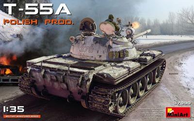 T-55A Polish Prod.
