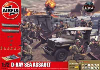 D-Day Sea Assault + Paint set