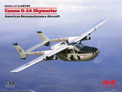Cessna O-2A Skymaster, American Reconnaissance Aircraft - 1