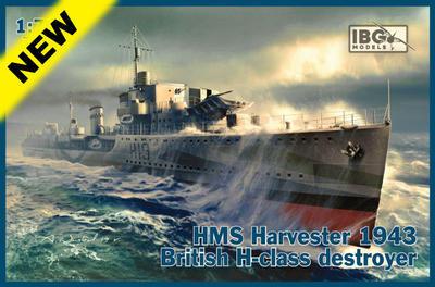HMS Harvester 1943 British H-class destroyer  - 1