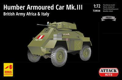 Humber Armoured Car Mk.III British Army Africa & Italy 1:72 - 1