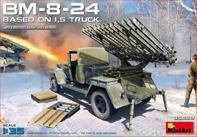 BM-8-24 Based on 1,5t Truck - 1