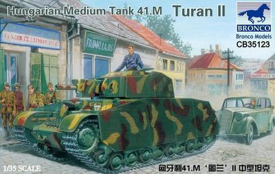 Hungarian Medium Tang 41.M Turan II