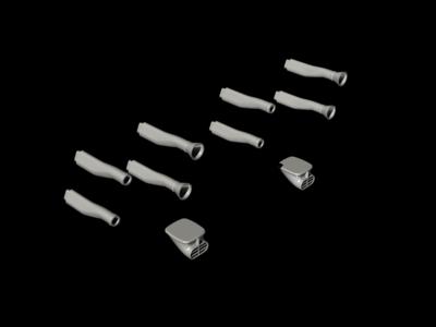 1/48 Blenheim Mk. I Engine Intakes