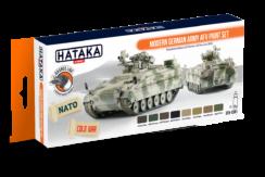 Modern German Army AFV Paint Set, set barev