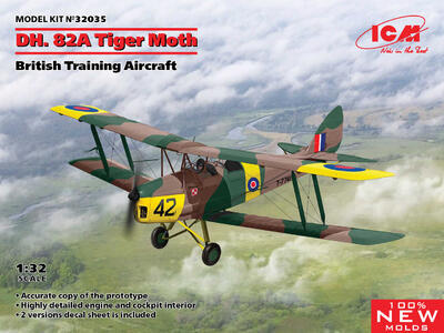 De Havilland DH. 82A Tiger Moth - 1