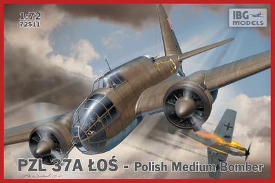 PZL.37 A Łoś - Polish Medium Bomber