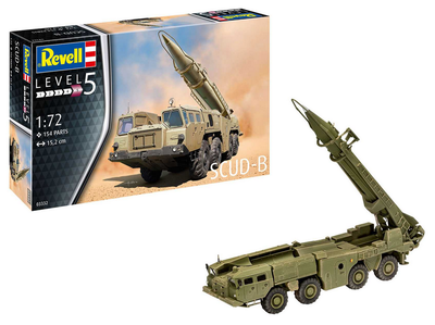 SCUD-B with MAZ-543 transport and launcher