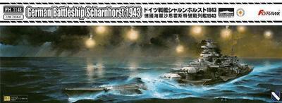 German Battleship Sharnhorst 1943
