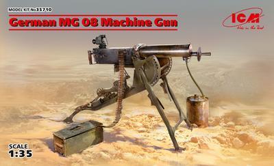 German MG 08 Machine Gun - 1