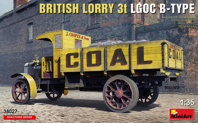 British Lorry 3T LGOC B-Type - 1