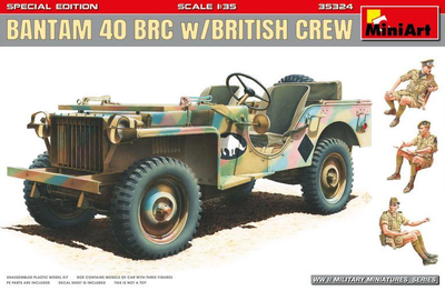 Bantam 40 BRC With British Crew