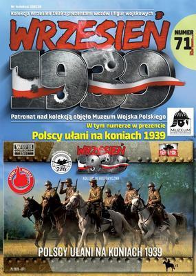 Polscy ułani na koniach 1939, 6 fig.