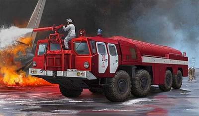 Airport Fire Fighting Vehicle AA-60 (MAZ -7310) 160.1 - 1