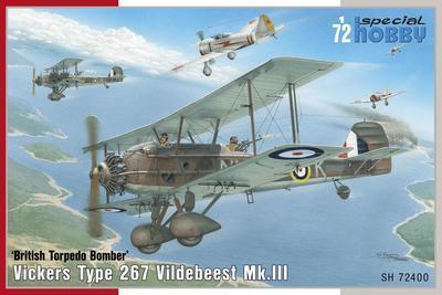 Vickers Type 267 Vildebeest MkIII - 1