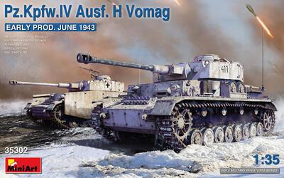 Pz.Kpfw.IV Ausf. H Vomag. EARLY PROD. JUNE 1943 - 1