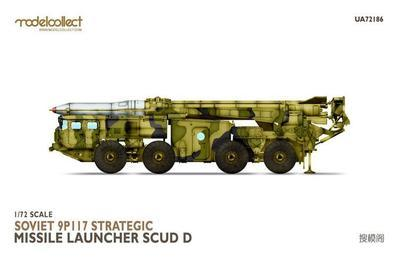 Soviet 9P117 Strategic Missile Luncher SCUD D