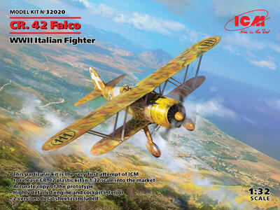"Fiat CR.42 Falco (""Falcon"") WWII Italian Fighter - 1"