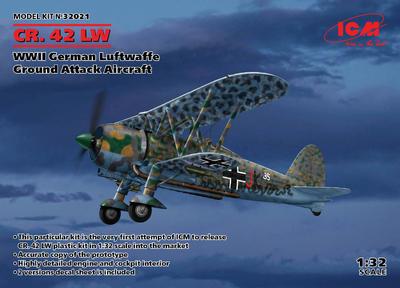 Fiat CR. 42 LW Falco, WWII German Luftwaffe Ground Attack Aircraft - 1