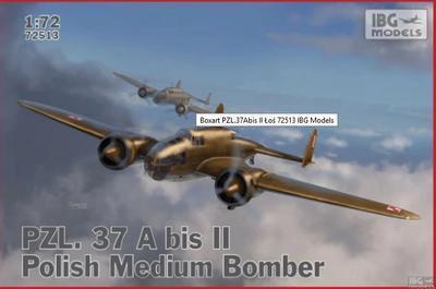 PZL PZL.37A bis 2 Los-Polish Bomber Plane