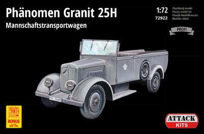 Phänomen Granit 25H Mannschaftstransportwagen (PE parts) NEW TOOL - 1