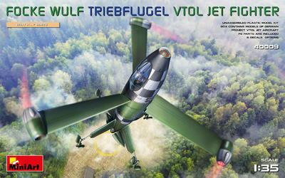 FOCKE WULF TRIEBFLUGEL VTOL JET FIGHTER - 1