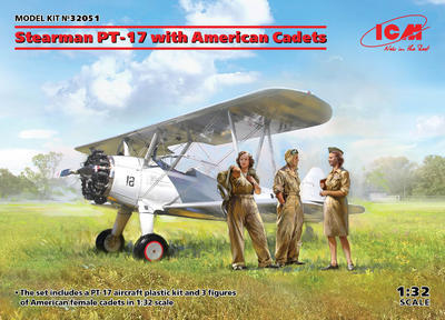Stearman PT-17 with American Cadets - 1