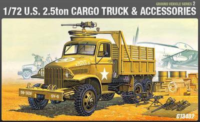 Ground Vehicle Series -2 U.S. 2,5 Ton Truck & Accesories