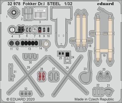 Fokker Dr. I OCEL 1/32  lept