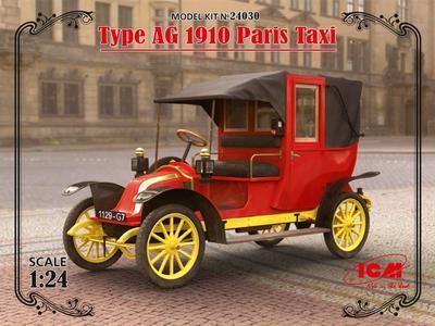 Type AG 1910 Paris Taxi