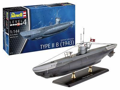 German Submarine Type II B (1943) - 1