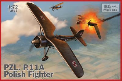 PZL P.11a - Polish Fighter Plane - přijímáme předobjednávky - pre/orders - 1