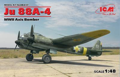 JU 88A-4 WWII Axis Bomber