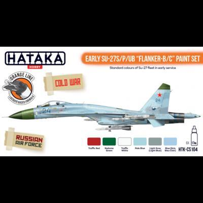 "Early SU-27S/P/UB ""Flanker-B/C"" Paint Set, sada barev - 1"