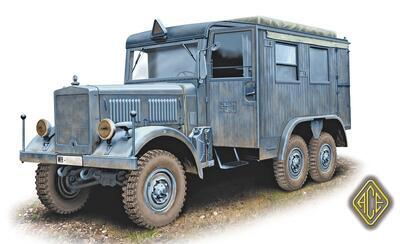 Funkkraftwagen Kfz.62 (Radio truck) - 1