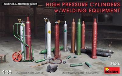 High Pressure Cylinders w/Wlding Equipment - 1