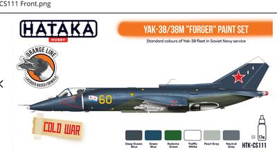 "Yak-38/38M ""Forger"" paint set , sada barev - 1"